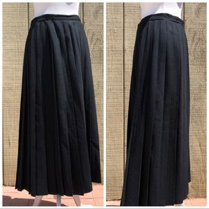 Vintage Evan- Picone Pleated Modest Maxi Skirt